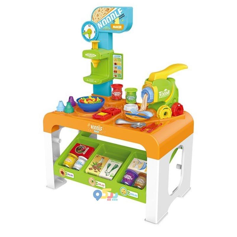 میز خمیر بازی کودک نودل ساز