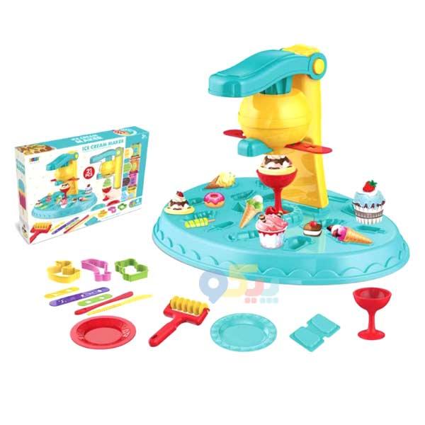 اسباب بازی خمیر بازی بستنی ساز