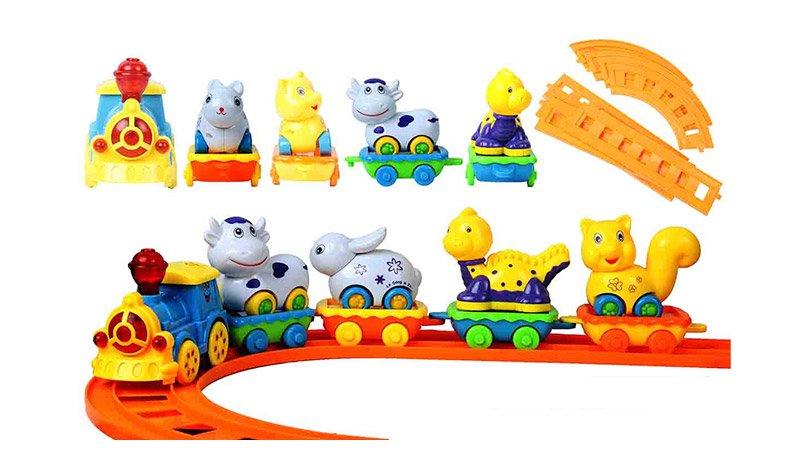 خرید قطار اسباب بازی موزیکال