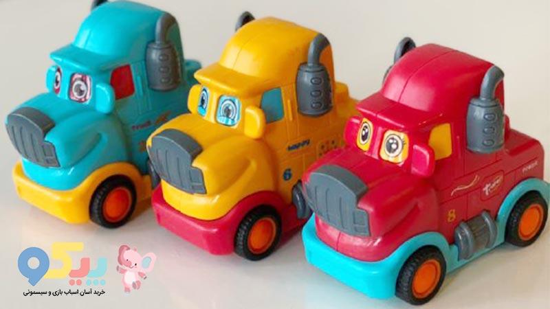 خرید کامیون اسباب بازی قدرتی