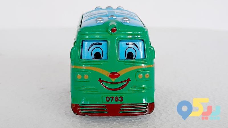 اتوبوس اسباب بازی فلزی عقب کش