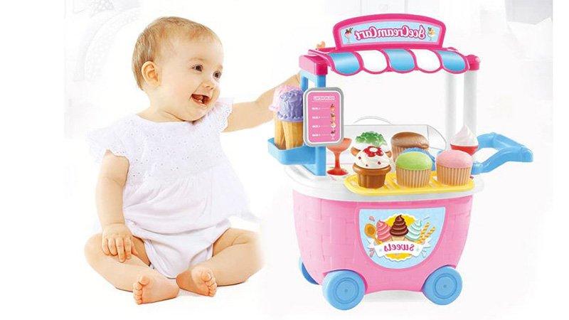 اسباب بازی بستنی فروشی: عکس+قیمت