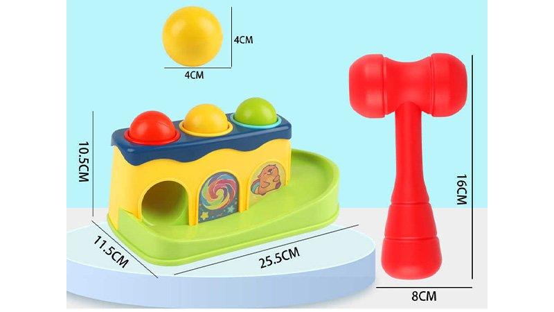 اسباب بازی چکش و توپ:عکس+قیمت