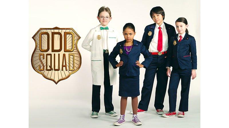 سی دی آموزشی زبان انگلیسی odd squad سری creature encounters