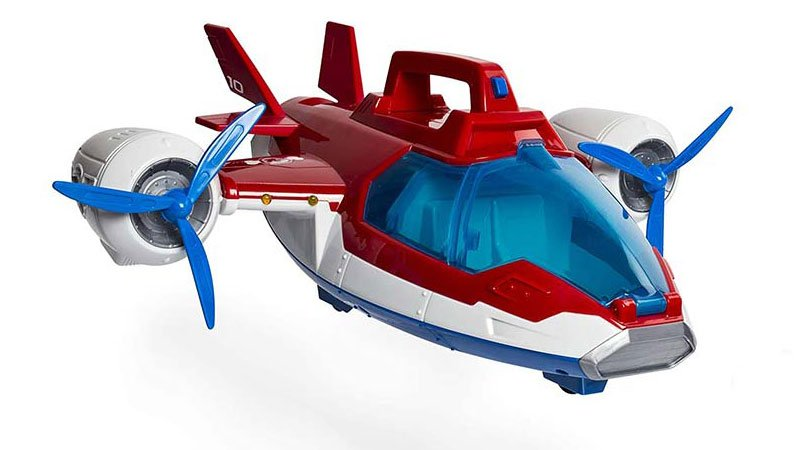 هواپیمای اسباب بازی سگهای نگهبان
