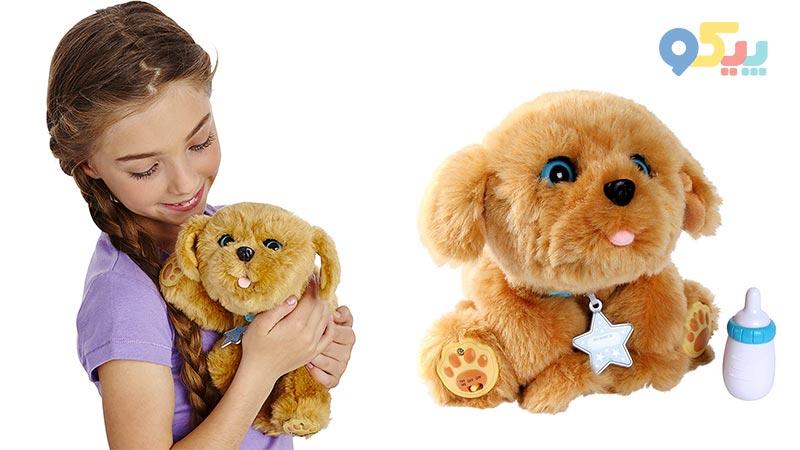 اسباب بازی سگ رباتیک پشمالو snuggles