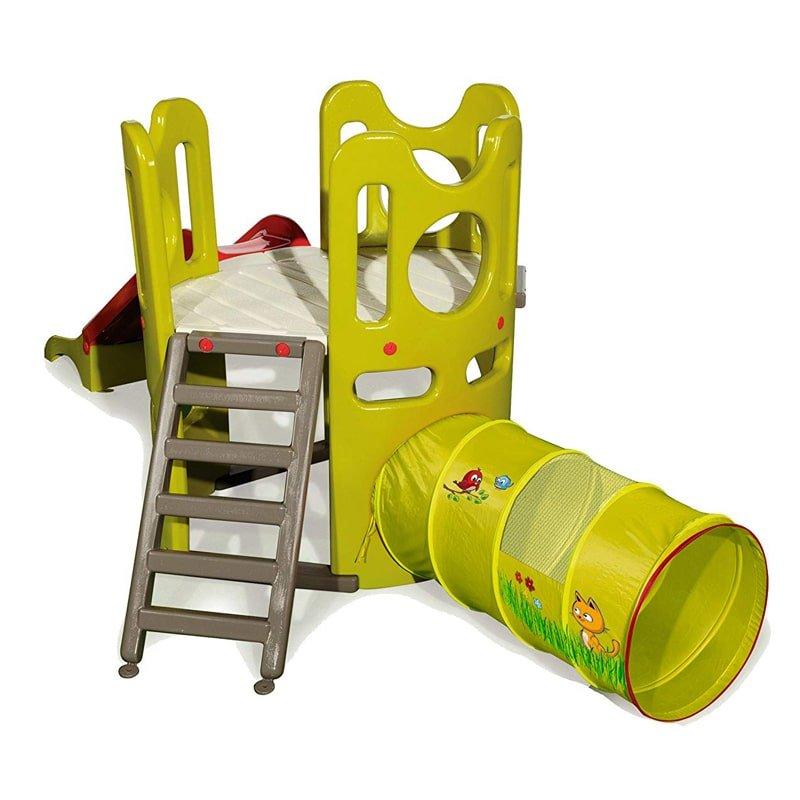 مجموعه بازی تونل و سرسره کودک
