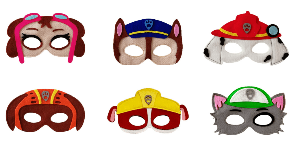 ماسک کودک سگ های نگهبان