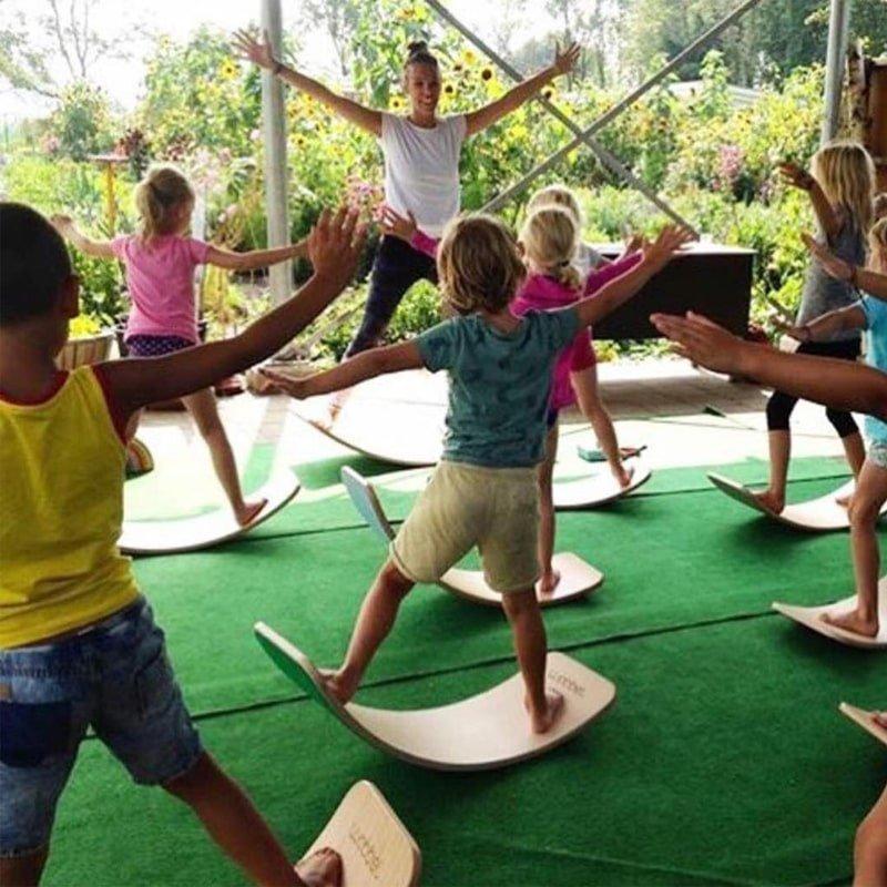 ورزش با تخته تعادلی