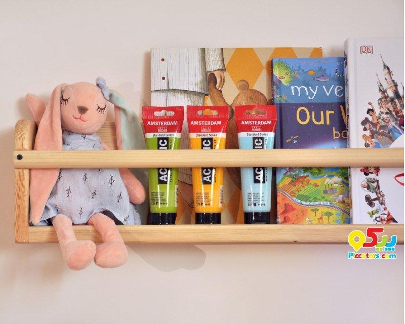 خرید شلف چوبی اتاق کودک