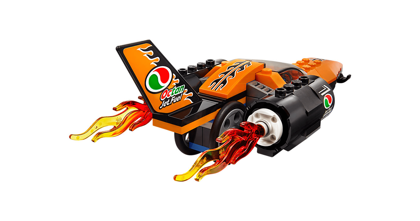 لگو ماشین سرعتی مسابقه speed record car 60178