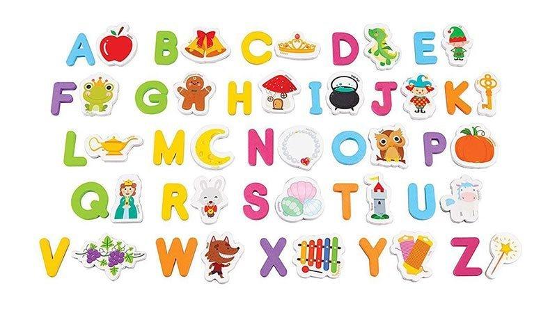 حروف و اشکال مگنتی 52 تکه crayola