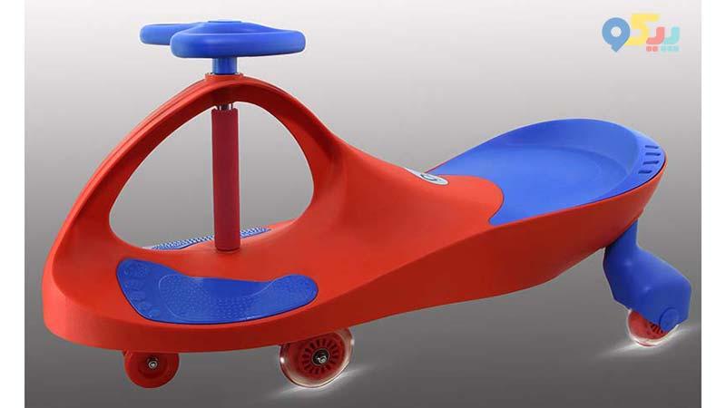 سه چرخه بازی کودک با سه چرخه لوپ کار