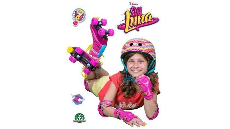کلاه ایمنی دخترانه soy luna دیزنی