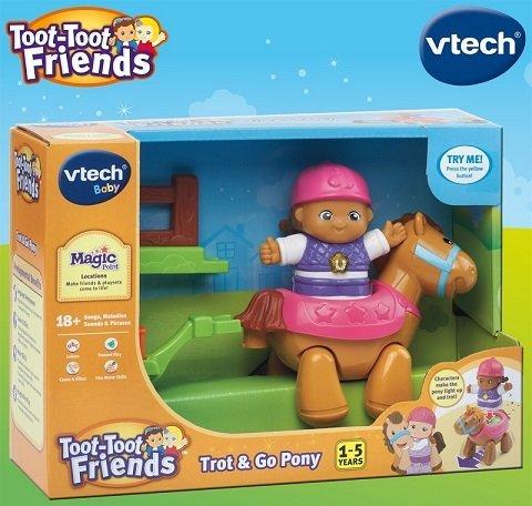 آدمک دختر مزرعه موزیکال Toot-Toot Friends Trot & Go Pony 167403