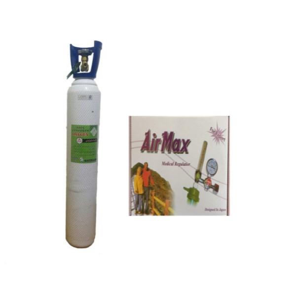 کپسول اکسیژن ۱۰ لیتری(پر) ایرانی به همراه مانومتر ایرمکس