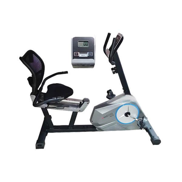 دوچرخه ثابت پشتی دار EMH Fitness مدل 6001R