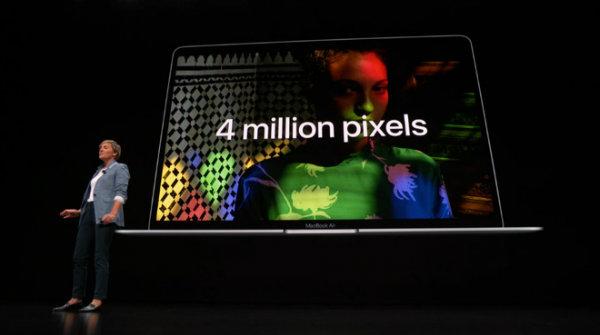 مک بوک ایر جدید اپل با نمایشگر رتینا معرفی شد