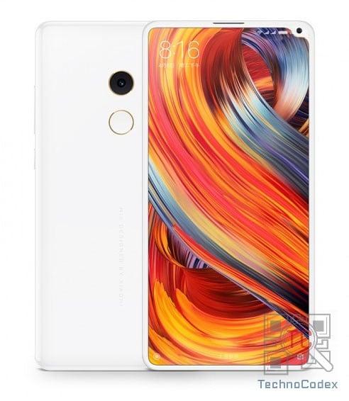 گوشی بدون حاشیه Xiaomi Mi Mix 2s با طراحی کاملاً متفاوت فاش شد