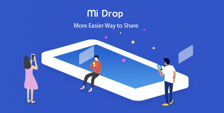 Mi Drop راهی ساده تر برای به اشتراک گذاری