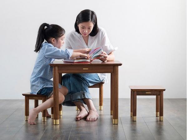 ست کوچک میز و صندلی چوبی، محصول جدیدی از شیائومی