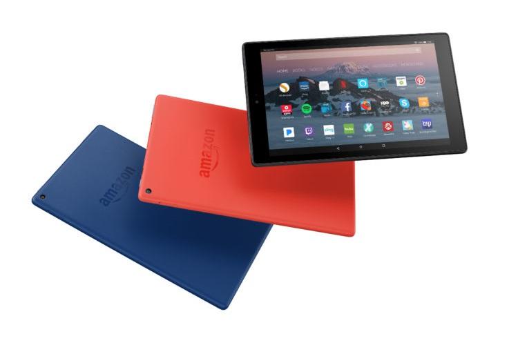 آمازون تبلت جدید Fire HD 10 را با مشخصات بهبودیافته معرفی کرد