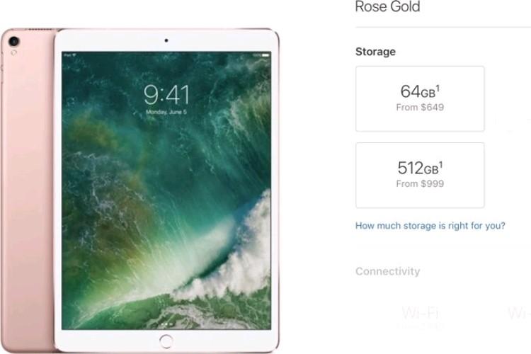 اپل قیمت آیپد پرو ۲۵۶ و ۵۱۲ گیگابایتی را ۵۰ دلار افزایش داد