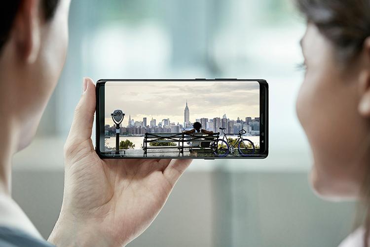 گلکسی نوت ۸ سامسونگ بهترین صفحه نمایش جهان را در اختیار دارد