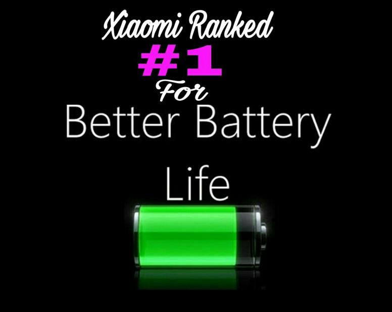 شیائومی دارای بیشترین امتیاز عمر باتری در بین گوشی های هوشمند شد