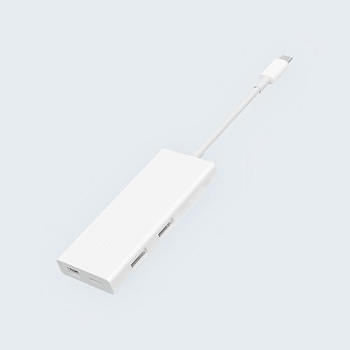 معرفی آداپتور چندکارهی USB-C شیائومی