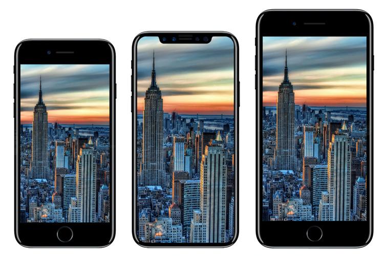 آیفون 8 به همراه آیفون 7 اس، در سه رنگ و بهصورت محدود عرضه میشود