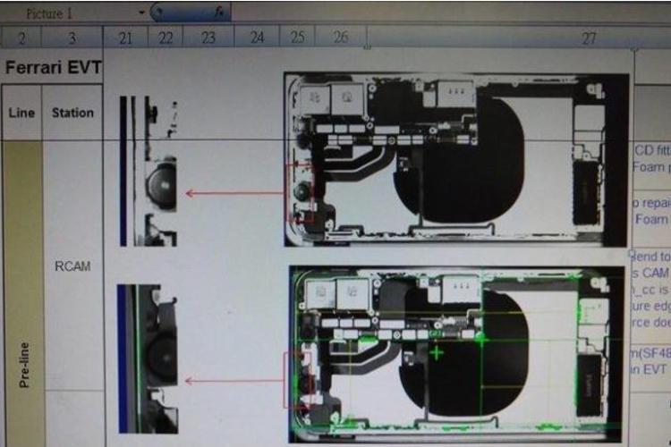 تصویری از روند تولید آیفون 8، شارژر وایرلس آن را نشان میدهد