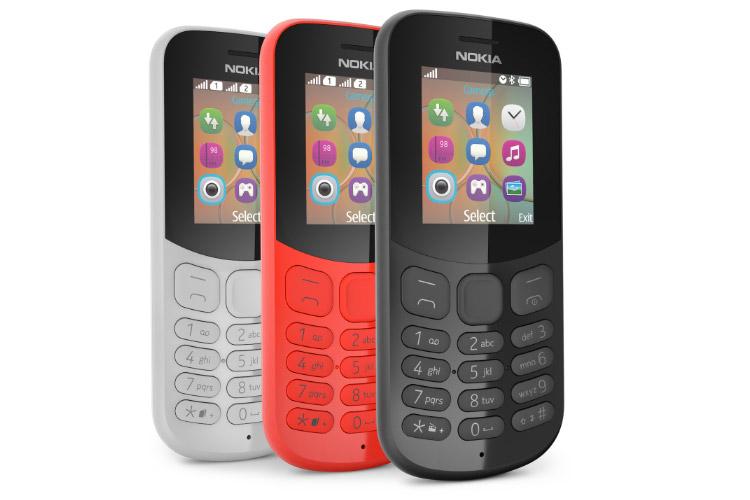 مدل جدید گوشیهای فیچرفون نوکیا 105 و نوکیا 130 بهصورت رسمی معرفی شد