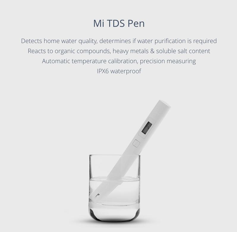 تستر کیفیت سلامتی آب شیائومی چه کاربردی دارد؟