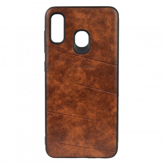 کاور مدل Leather مناسب برای گوشی موبایل سامسونگ A50