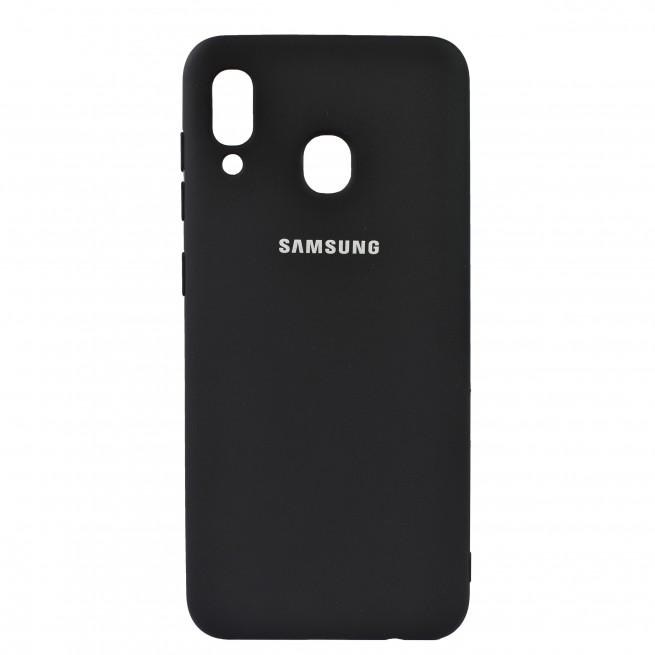 کاور مدل Silicon مناسب برای گوشی موبایل سامسونگ Galaxy A20