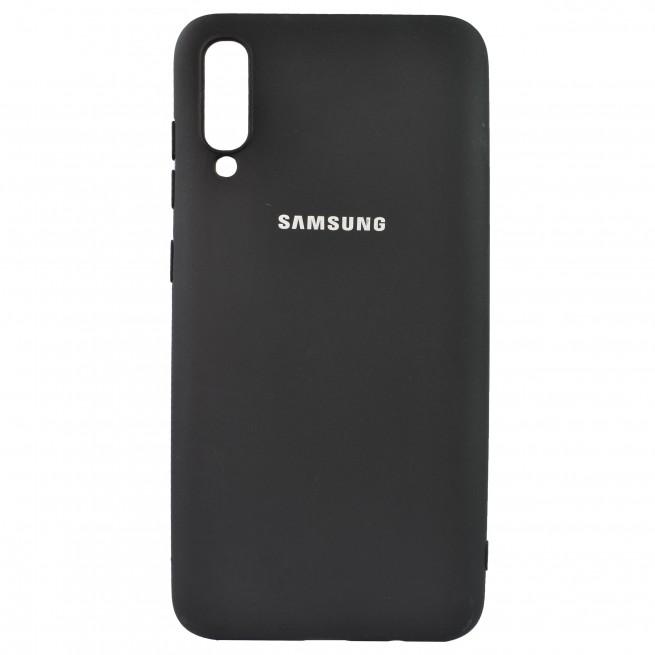 کاور مدل Silicon مناسب برای گوشی موبایل سامسونگ A70
