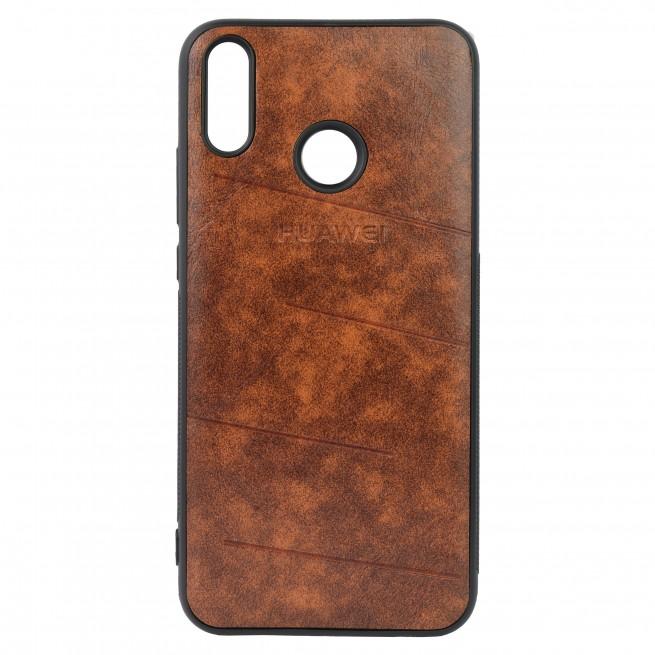 کاور مدل Leather مناسب برای گوشی موبایل هوآوی Y9 2019