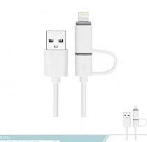 کابل تبدیل USB به MicroUSB،لایتنینگ توتو مدل B2AA-03 طول 1.2 متر