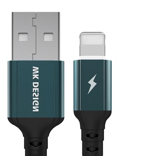 کابل تبدیل USB به Ligthning دبلیو کی مدل WDC-073 طول 1 متر
