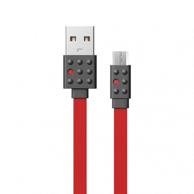 کابل تبدیل USB به MicroUSB پرودا مدل PC-01m طول 1.2متر
