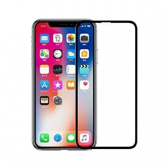 محافظ صفحه نمایش تمام چسب شیشه ای مدل 6D FullGlue مناسب برای گوشی اپل iPhone X/XS