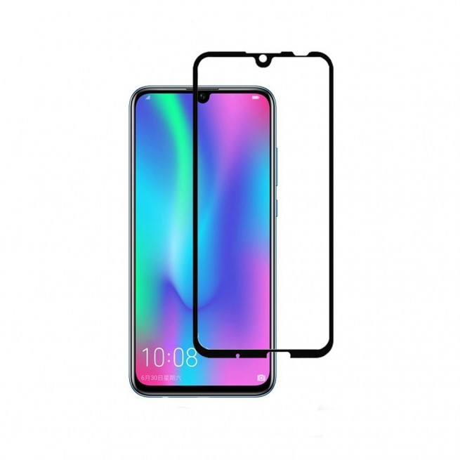 محافظ صفحه نمایش تمام چسب شیشه ای مدل 3D مناسب برای گوشی هوآوی P Smart 2019