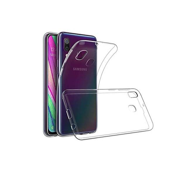 کاور مدل Clear jelly مناسب برای گوشی موبایل سامسونگ Galaxy A40