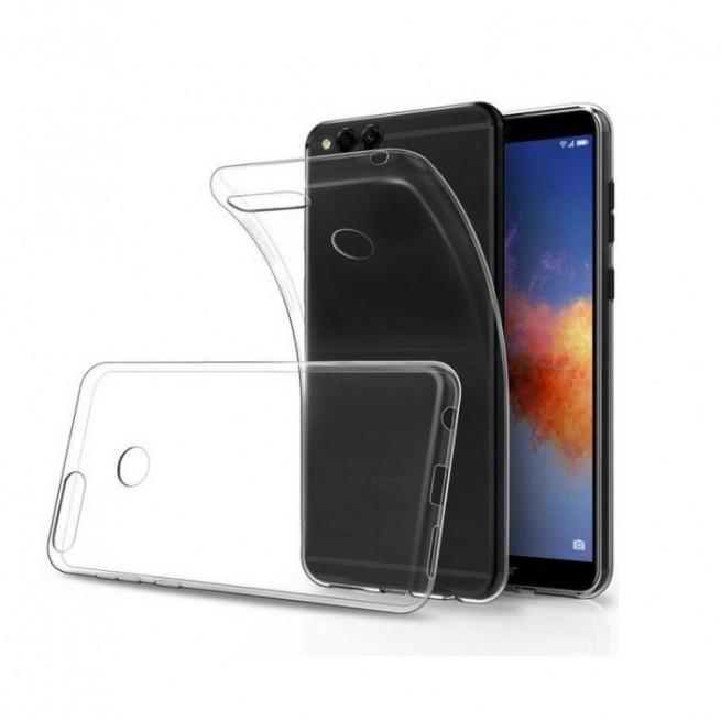 کاور مدل Clear jelly مناسب برای گوشی موبایل هوآوی Y9 2018
