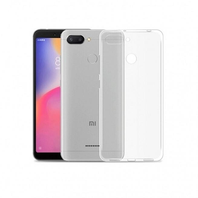 کاور مدل Clear jelly مناسب برای گوشی موبایل شیائومی Redmi 6