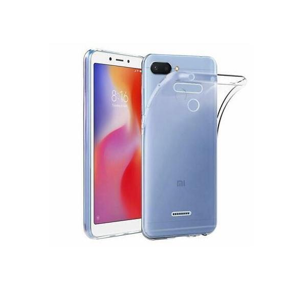 کاور مدل Clear jelly مناسب برای گوشی موبایل شیائومی Redmi 6A