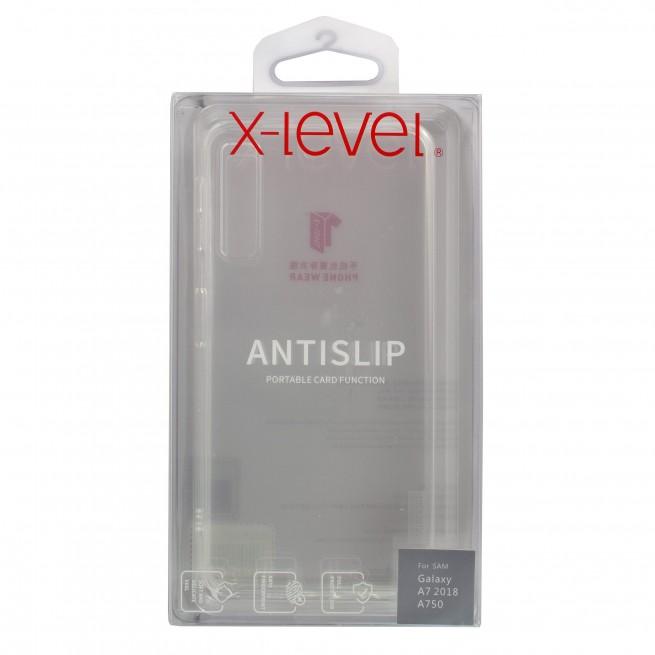 قاب محافظ ایکس-لول مدل AntiSlip مناسب برای گوشی سامسونگ A7 2018