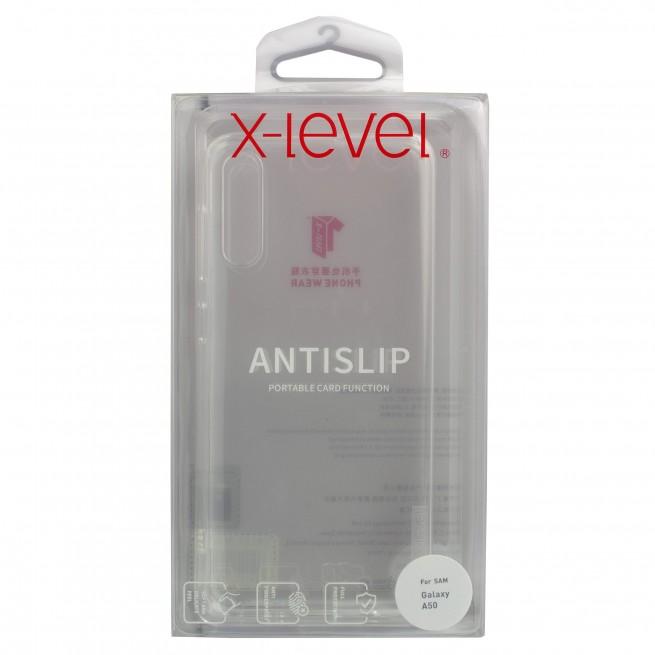 قاب محافظ ایکس-لول مدل AntiSlip مناسب برای گوشی سامسونگ A50