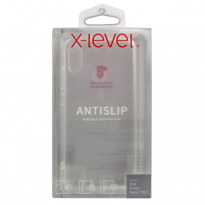 قاب محافظ ایکس-لول مدل AntiSlip مناسب برای گوشی شیائومی Redmi Note 7